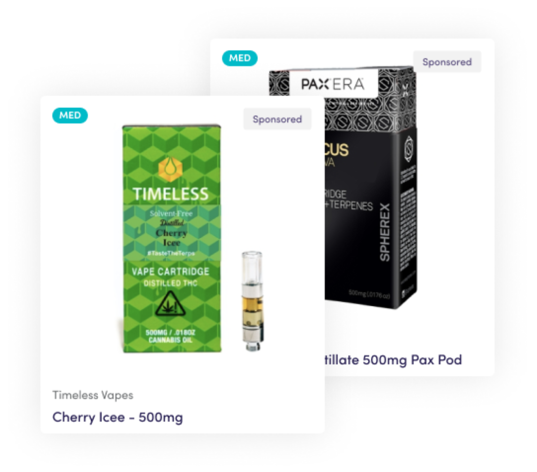 product ad cannabis
