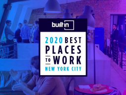 Built In — 2020 Best Places to Work in New York City
