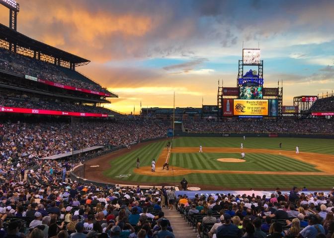 Coors Field, one of the best outdoor activities in Denver