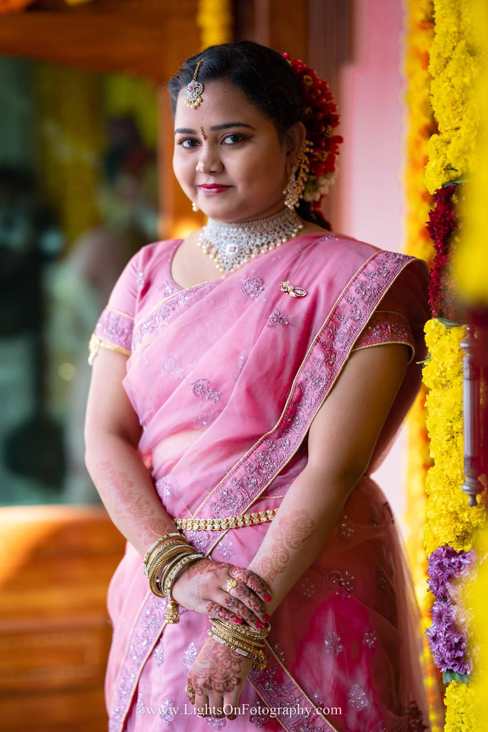 Telugu traditional Bride.