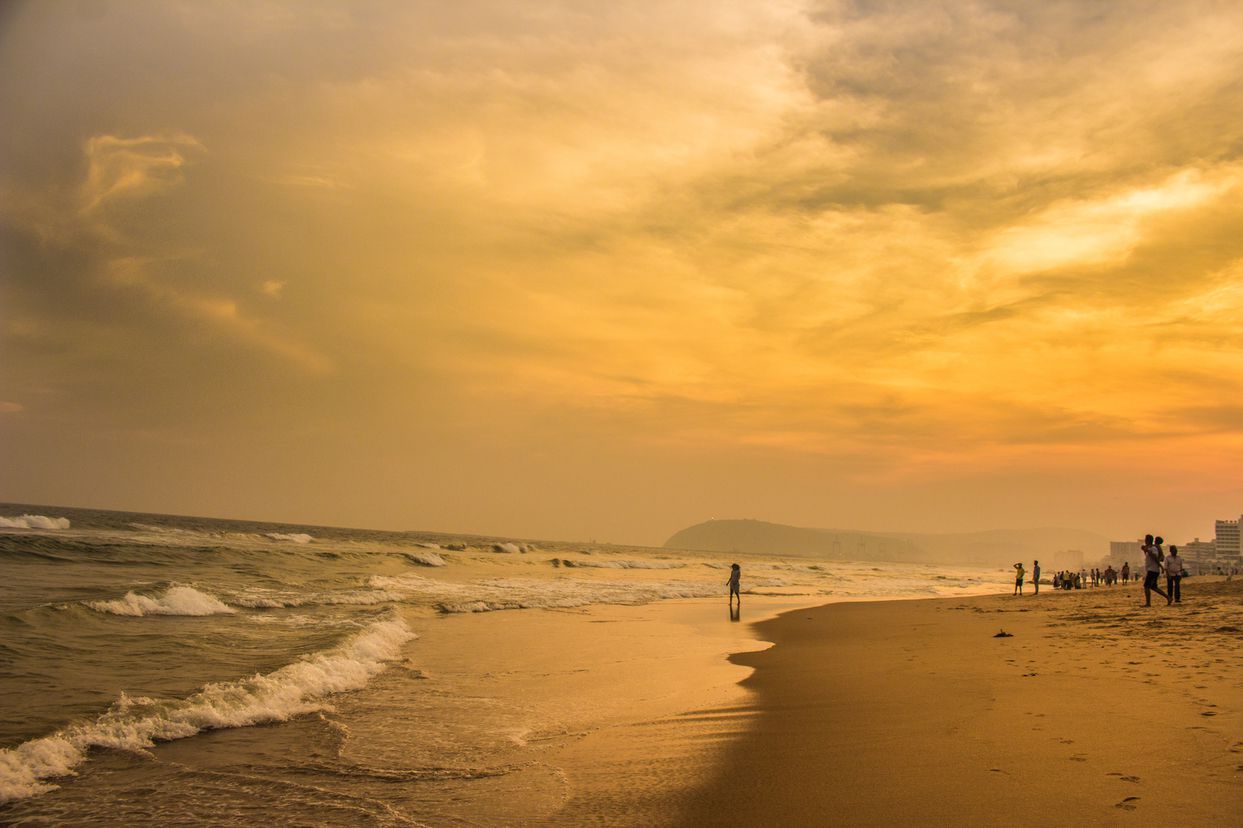 a-winter-evening-at-the-beach-in-vizag-city