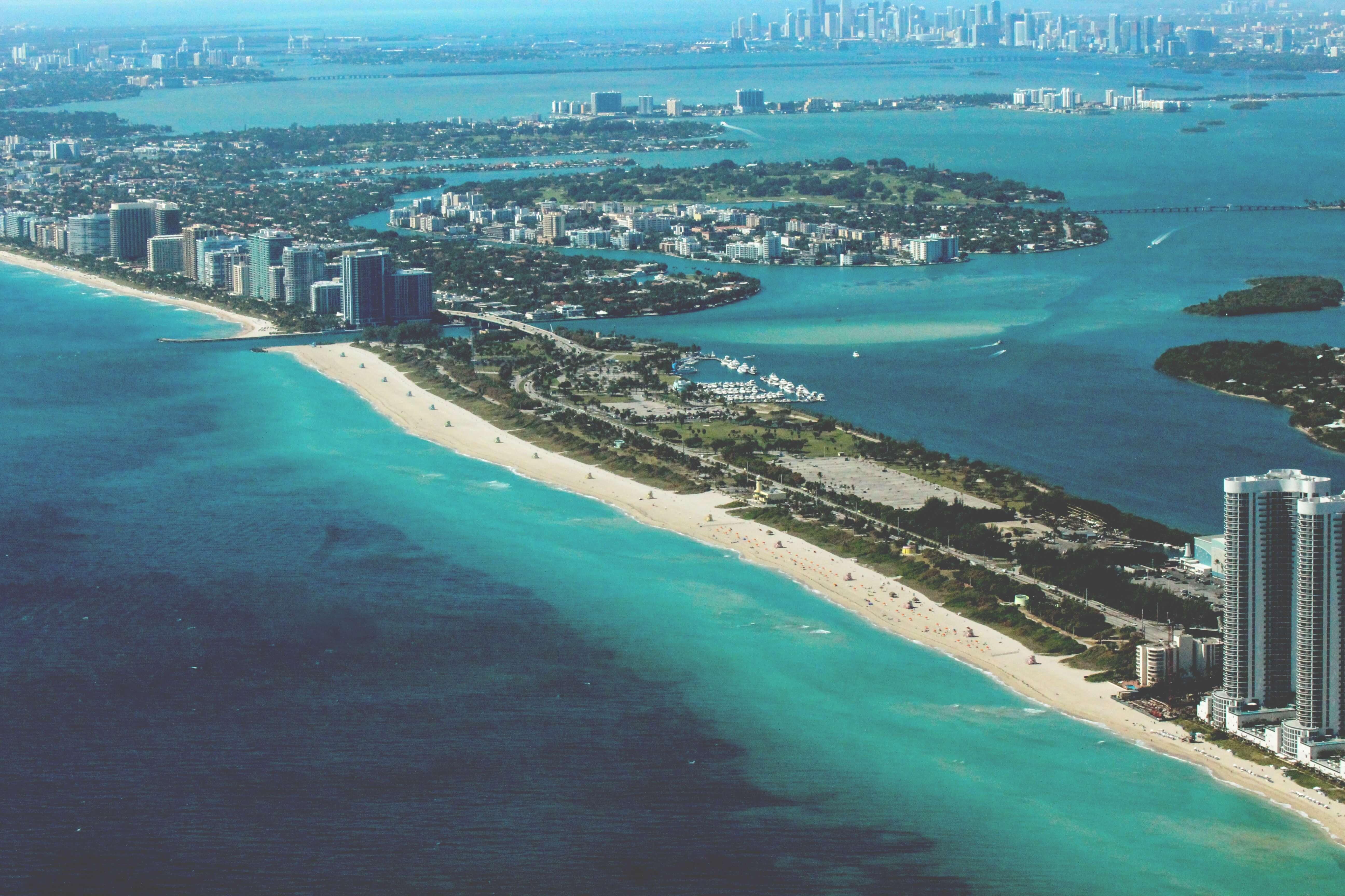 Miami long ariel