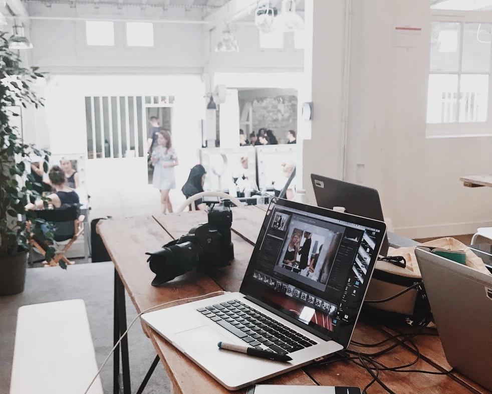 Photography studio computer