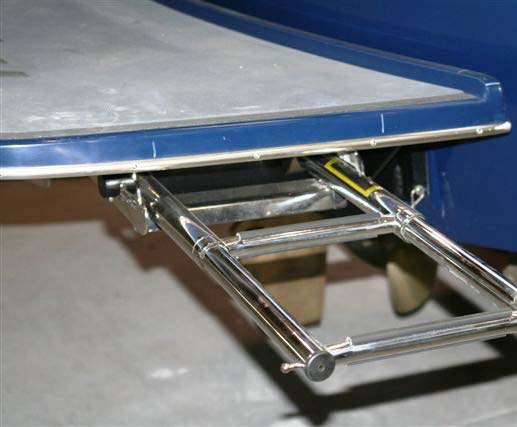 Malibu Swim Step Ladder - Modifications & Accessories