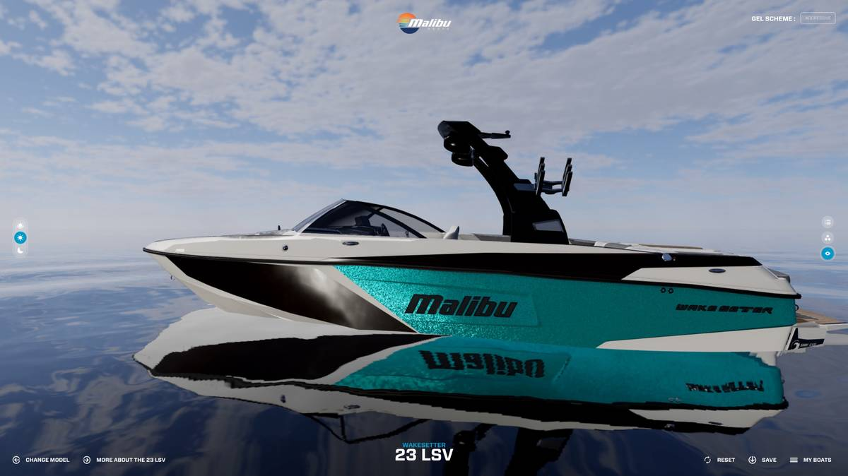 malibu boat coloring pages - photo#3