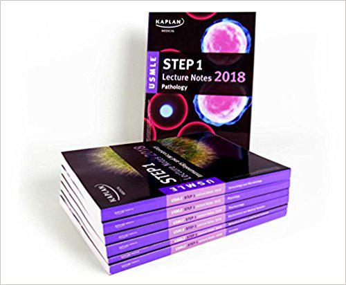 USMLE Step 1 Lecture Notes 2018: 7-Book Set (Kaplan Test Prep) 1st Edition
