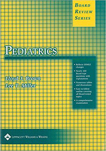 BRS Pediatrics (Board Review Series) 1st Edition