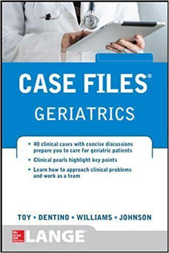 Case Files Geriatrics 1st Edition