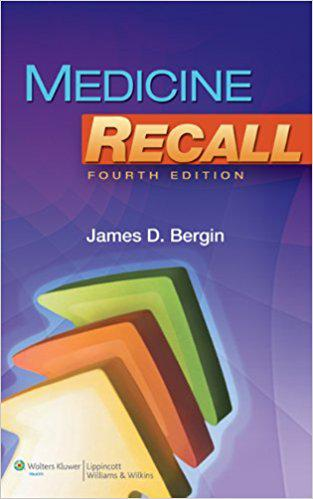 Medicine Recall (Recall Series) 4th Edition