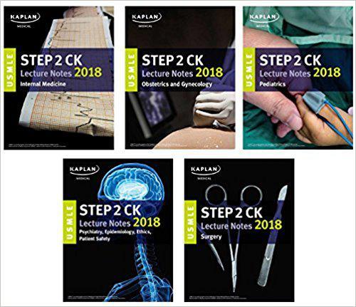 USMLE Step 2 CK Lecture Notes 2018: 5-Book Set (USMLE Prep) 1st Edition