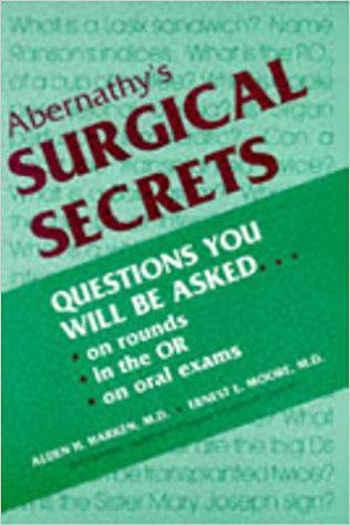 Abernathy's Surgical Secrets (Secrets Series) 3rd Edition