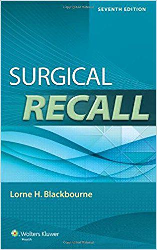 Surgical Recall (Recall Series) 7th Edition