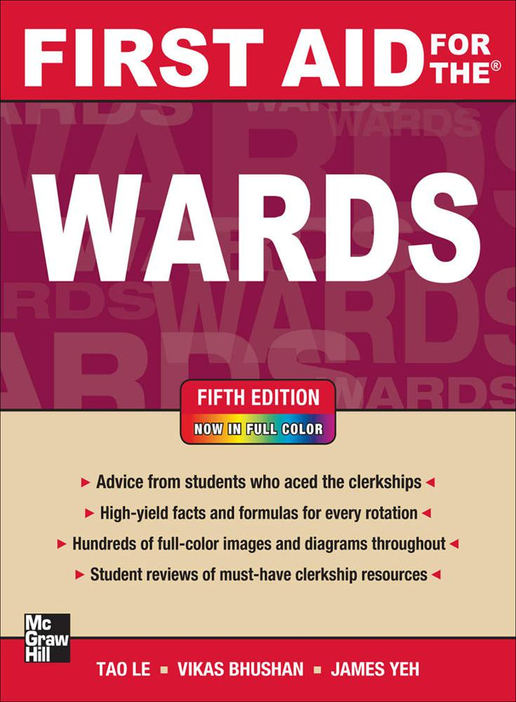 First Aid for the Wards, Fifth Edition (First Aid Series) 5th Edition