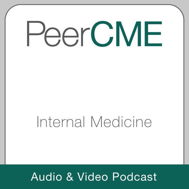 PeerCME Internal Medicine Audio & Video Podcast