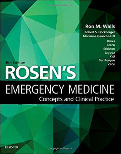 Rosen's Emergency Medicine: Concepts and Clinical Practice: Volume - 1&2, 9e