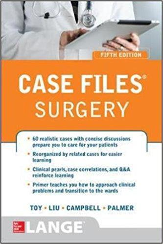 Case Files® Surgery, Fifth Edition 5th Edition