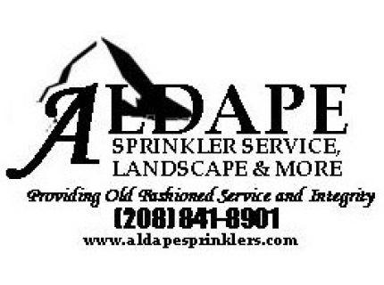 Aldape Sprinkler Service, Landscape & More LLC