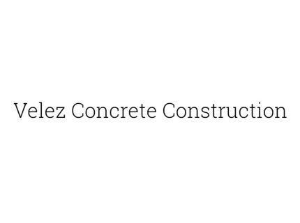 Velez Concrete Construction