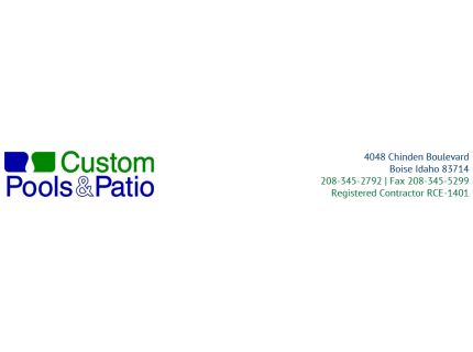 Custom Pools and Patio