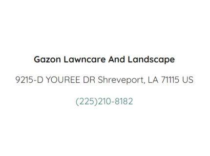 Gazon's Lawncare And Landscape