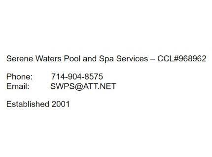 Serene Waters Pool & Spa