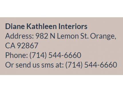 Diane Kathleen Interior Designing Company