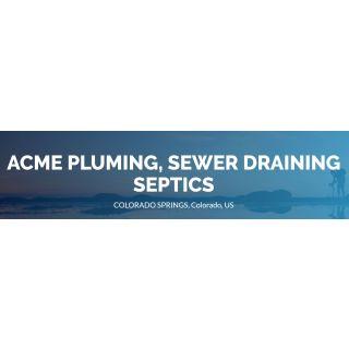 Acme Pluming, Sewer Draining Septics