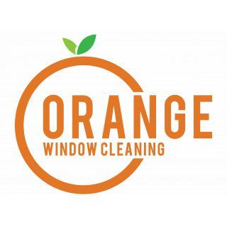 Orange window cleaning