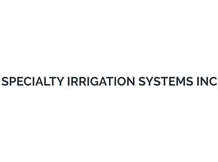 Specialty Irrigation Systems Inc