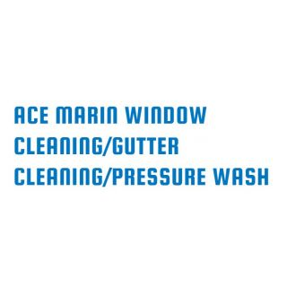 Ace Marin Window Cleaning/Gutter clean.Pressure wash