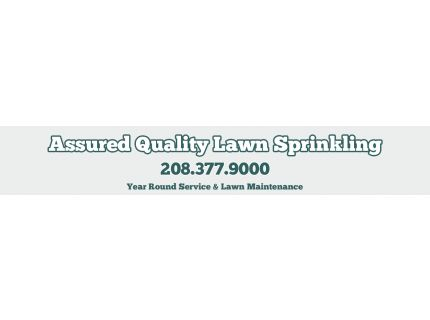 Assured Quality Lawn Sprinkling
