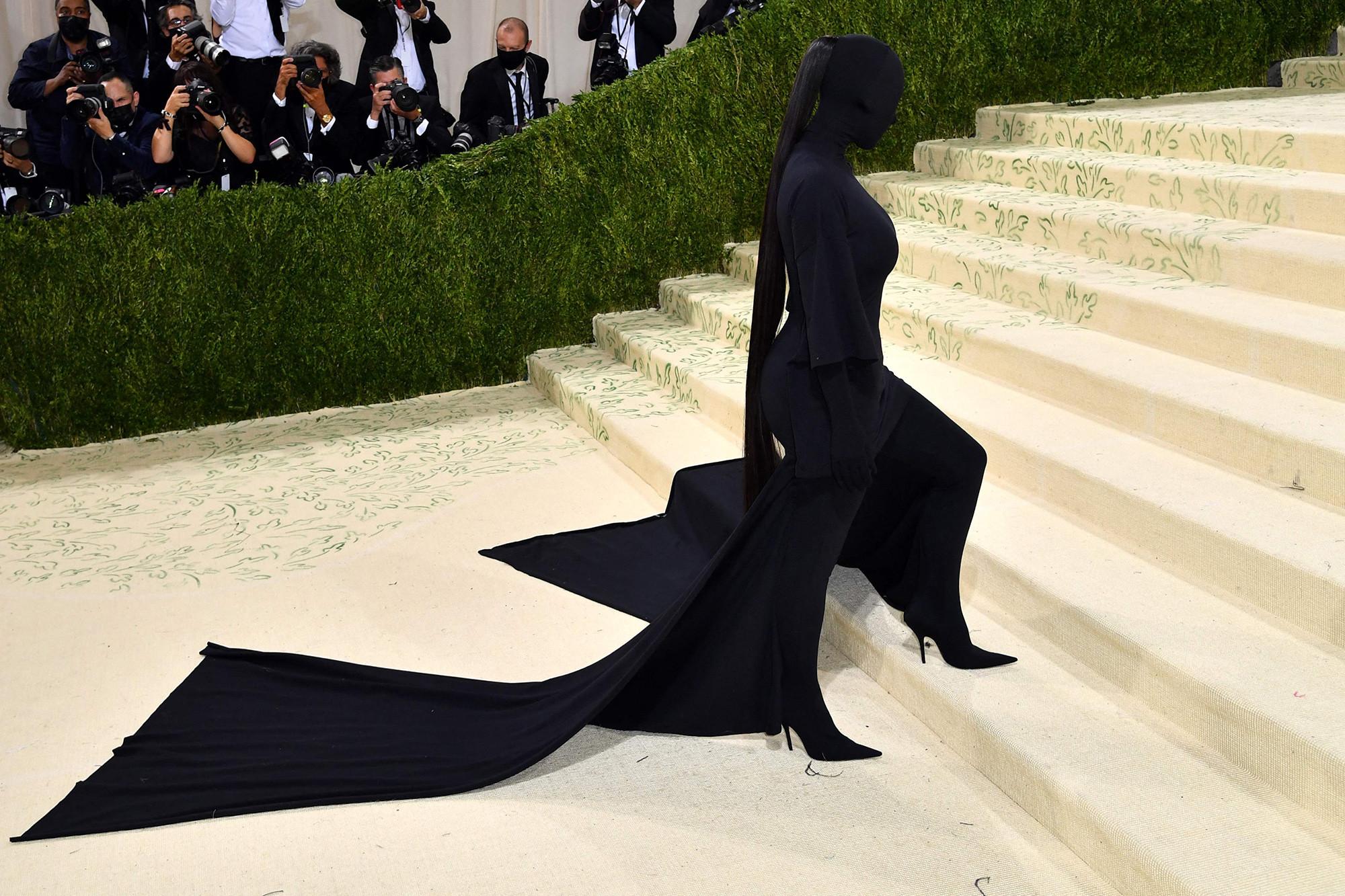Kim Kardashian en el MET Gala 2021