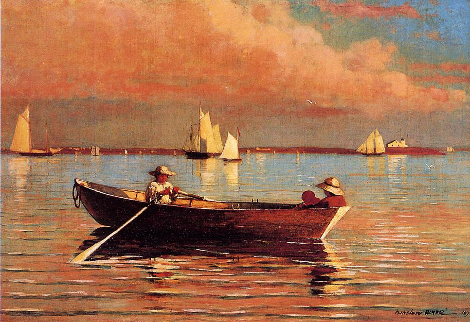 Winslow Homer, 1873, oil on canvas