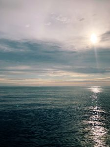 A peaceful day at sea. Credit: Chelsea Meier, Queens College; V19