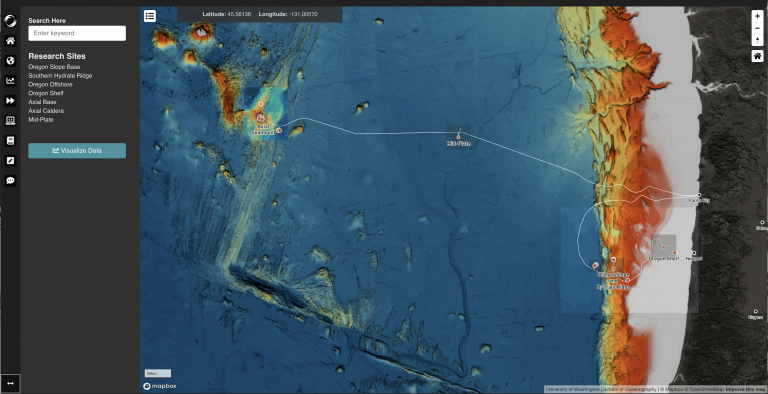 Welcome to the Interactive Oceans Data Portal