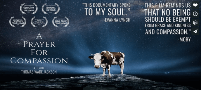 A Prayer for Compassion Film Screening and Panel Discussion - Online - VegFund