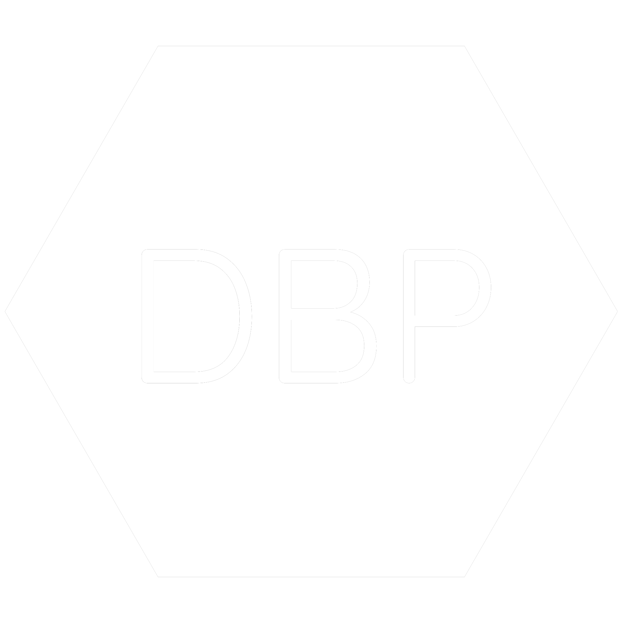 White hexagon icon with the chemical symbol for Dibutyl Phthalate which is a banned RoHS substance.