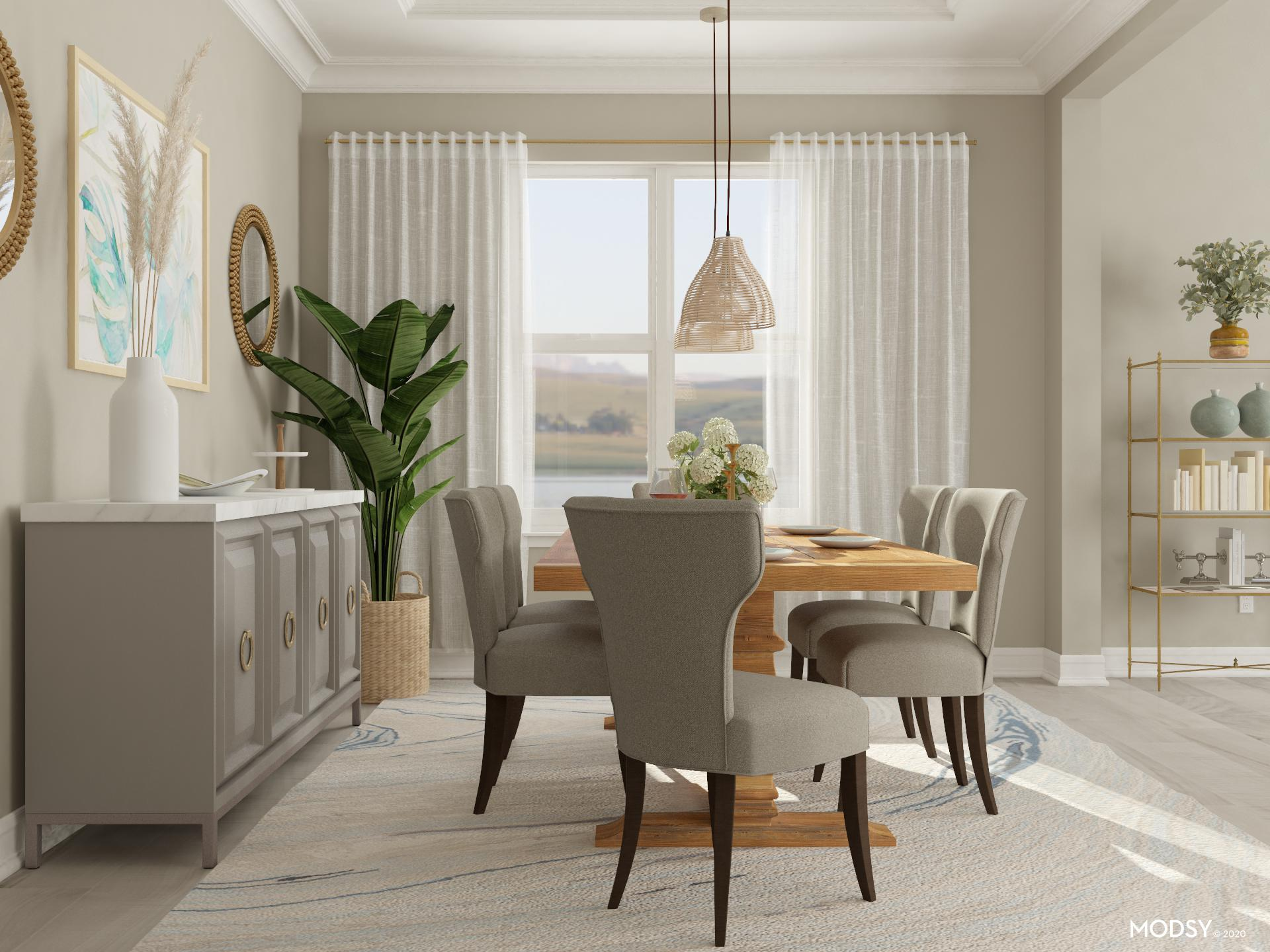 Pastel Traditional Dining | Traditional/Classic-Style ...