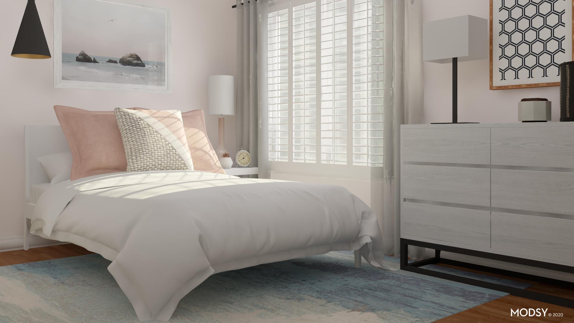 Pastel Paradise Makes A Fun Kids Room Minimalist Style