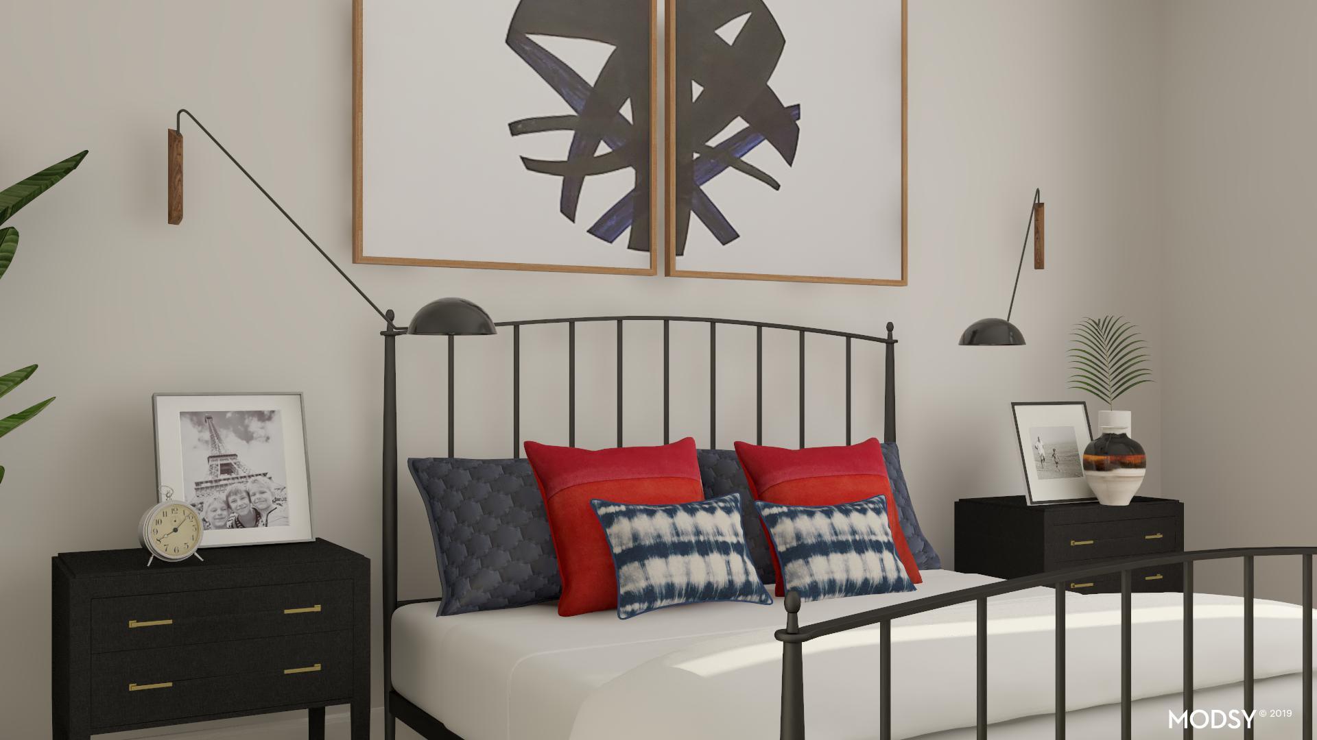 Simply Bold Industrial Bedroom Industrial Style Bedroom