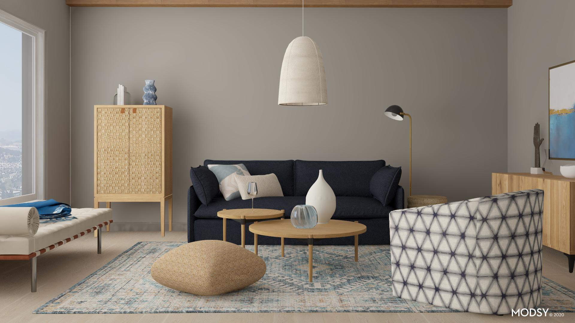 cooltoned organic modern living room  modernstyle
