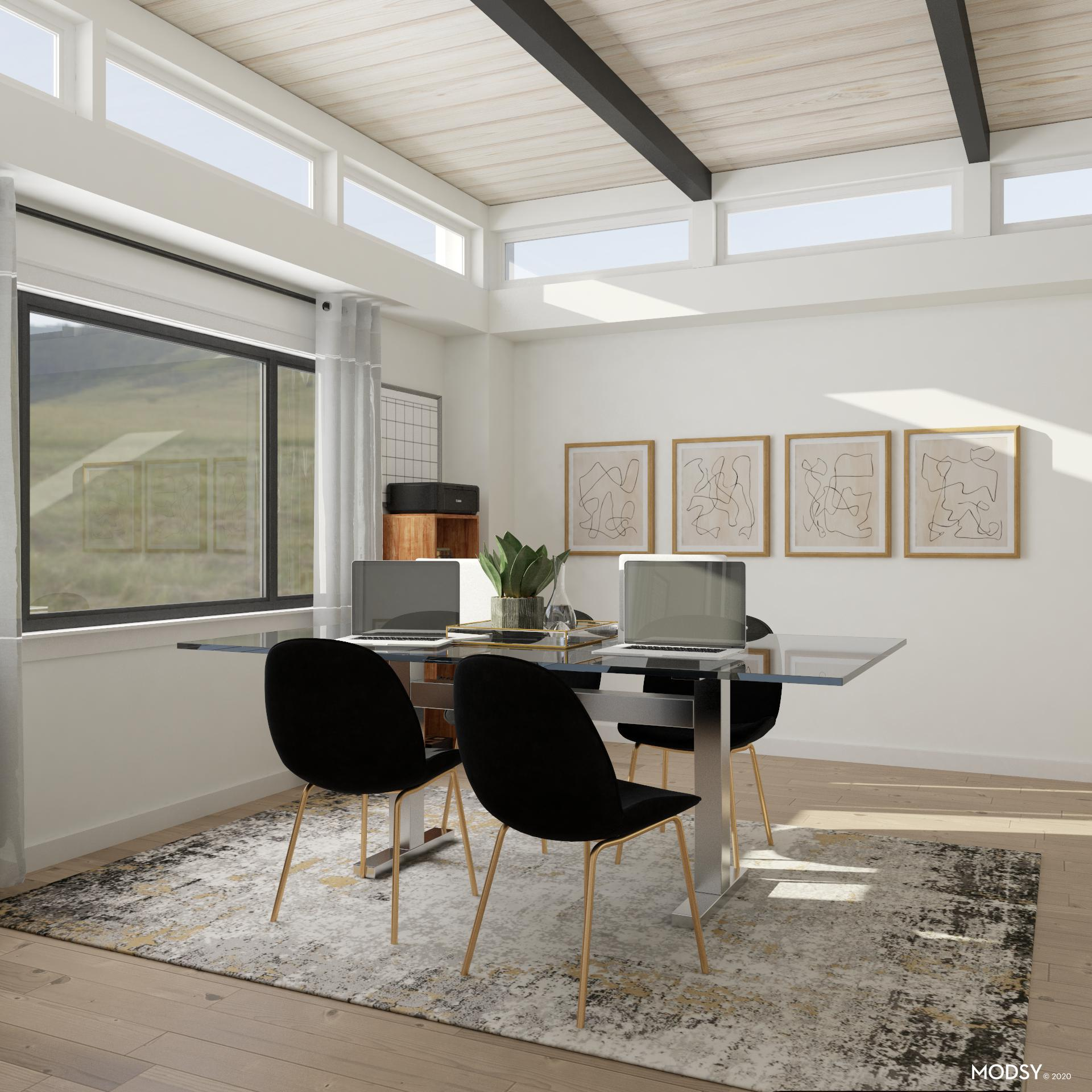 Get To Work In Contemporary Style Contemporary Style