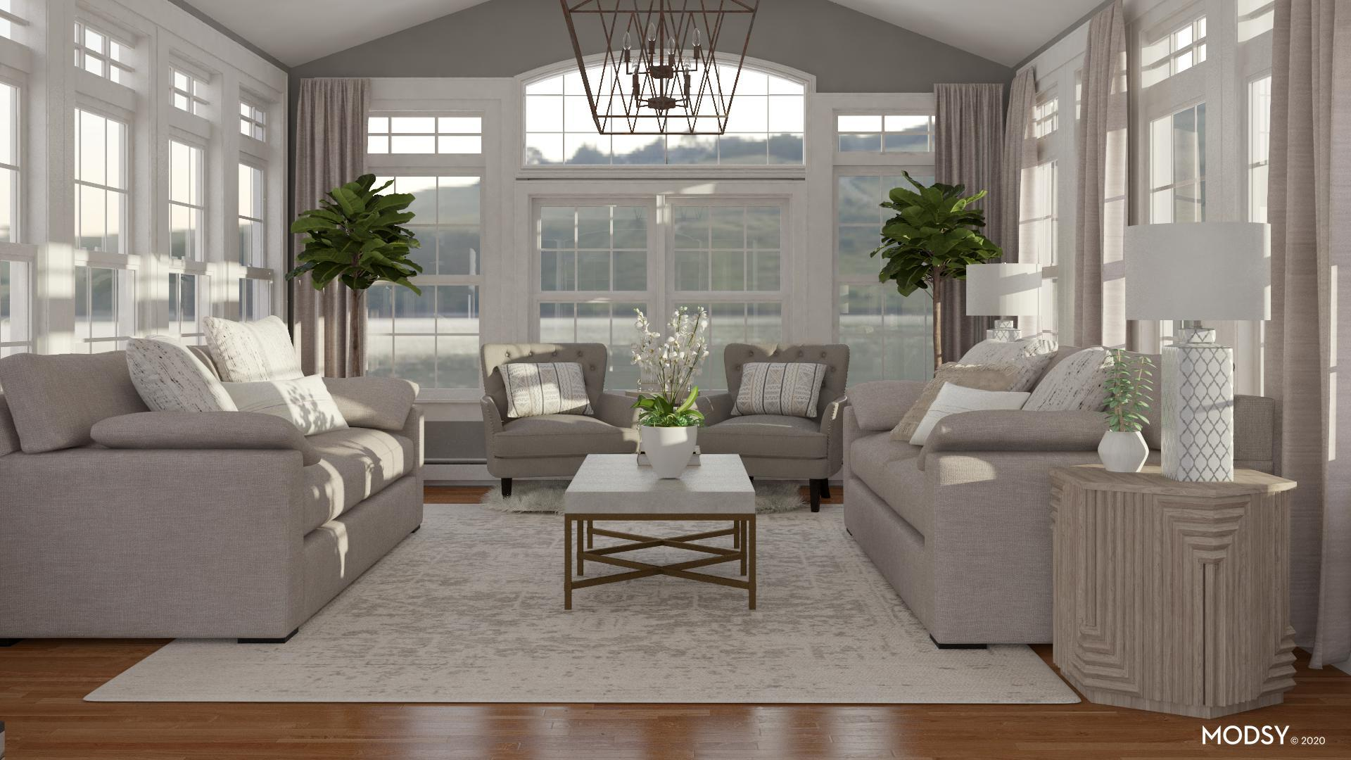 Traditional Living Room Design Ideas and Styles from Modsy Designers