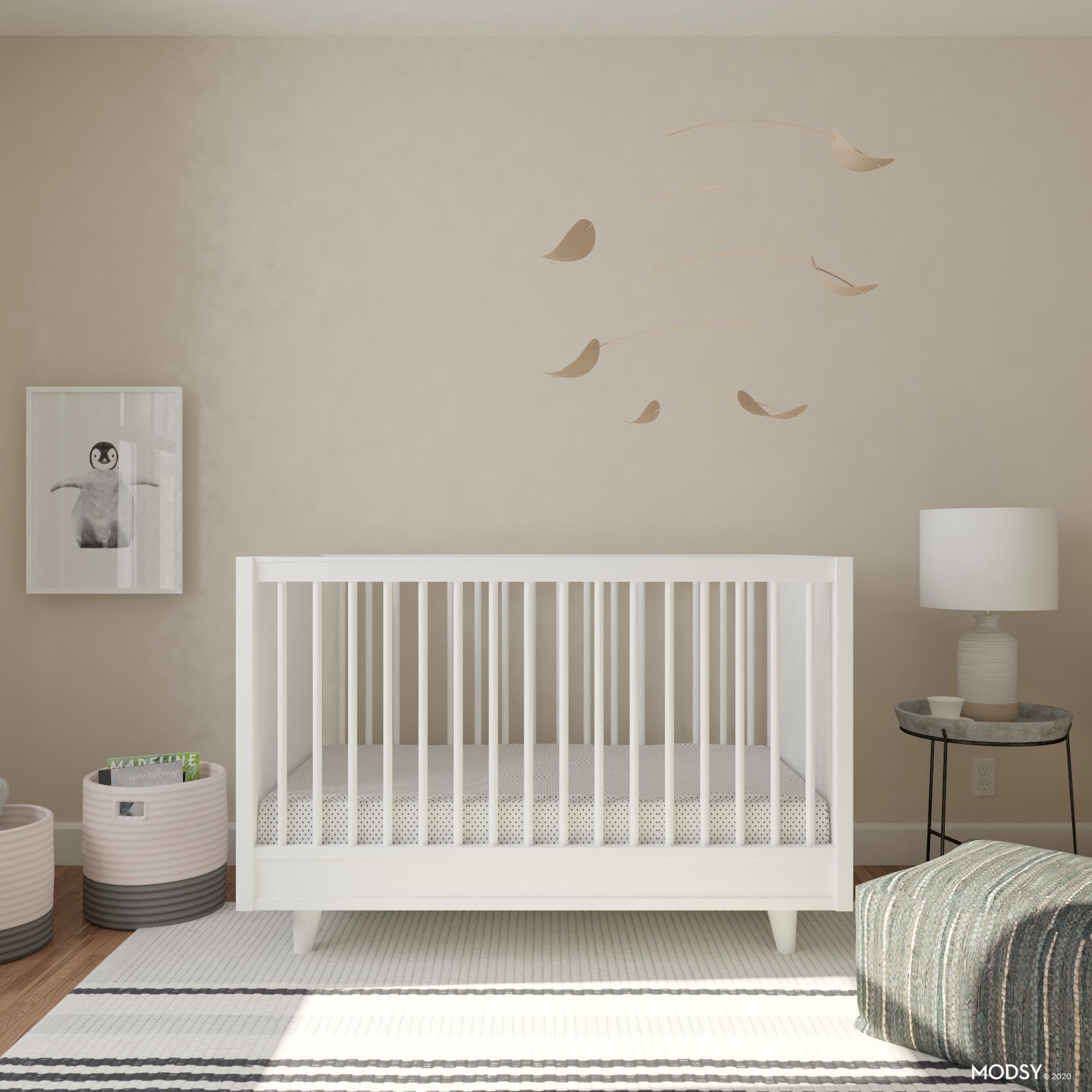 Clean Minimal Nursery Minimalist Style Nursery Design Ideas