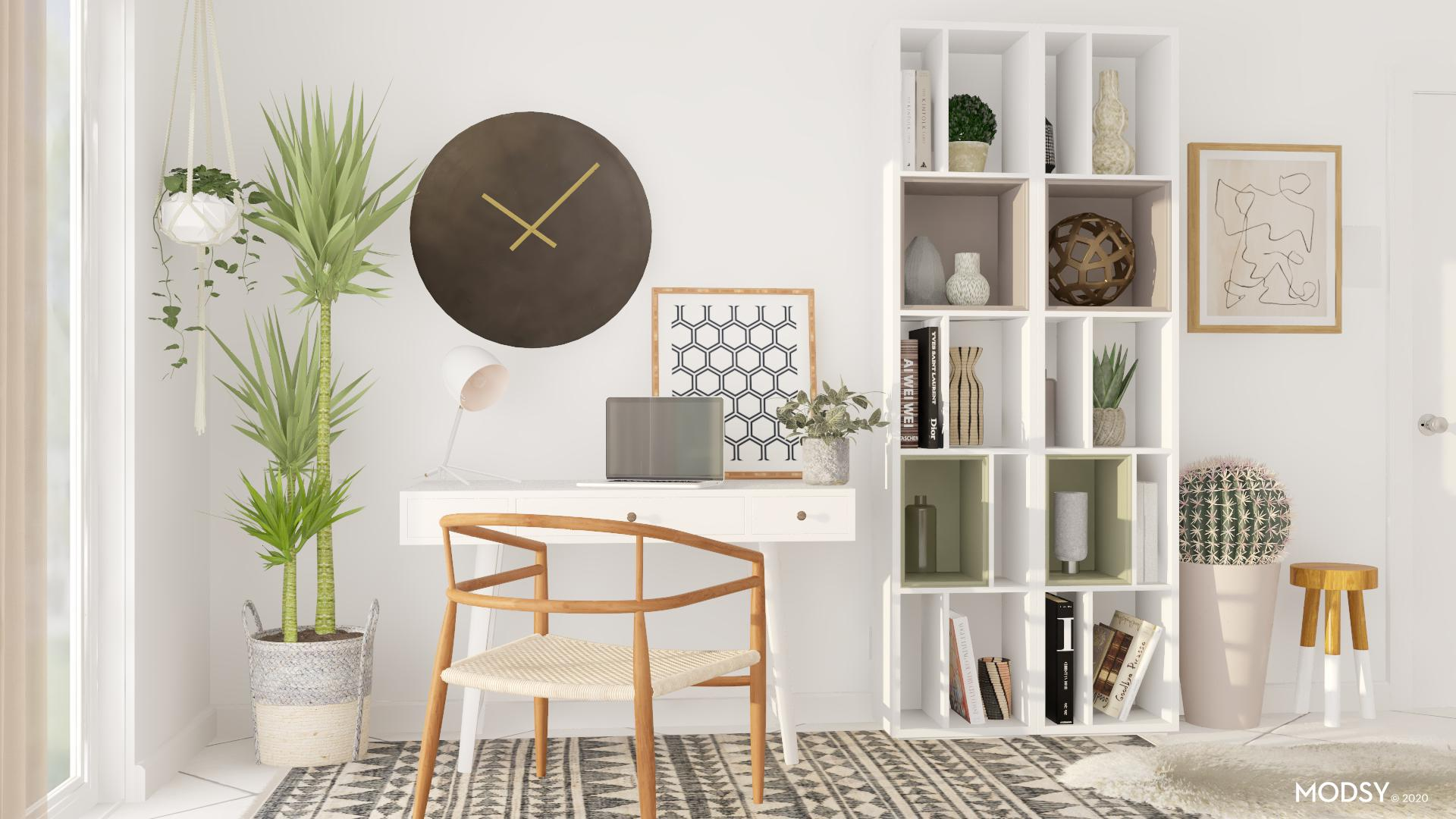 Minimalist Office Design Ideas And Styles From Modsy Designers
