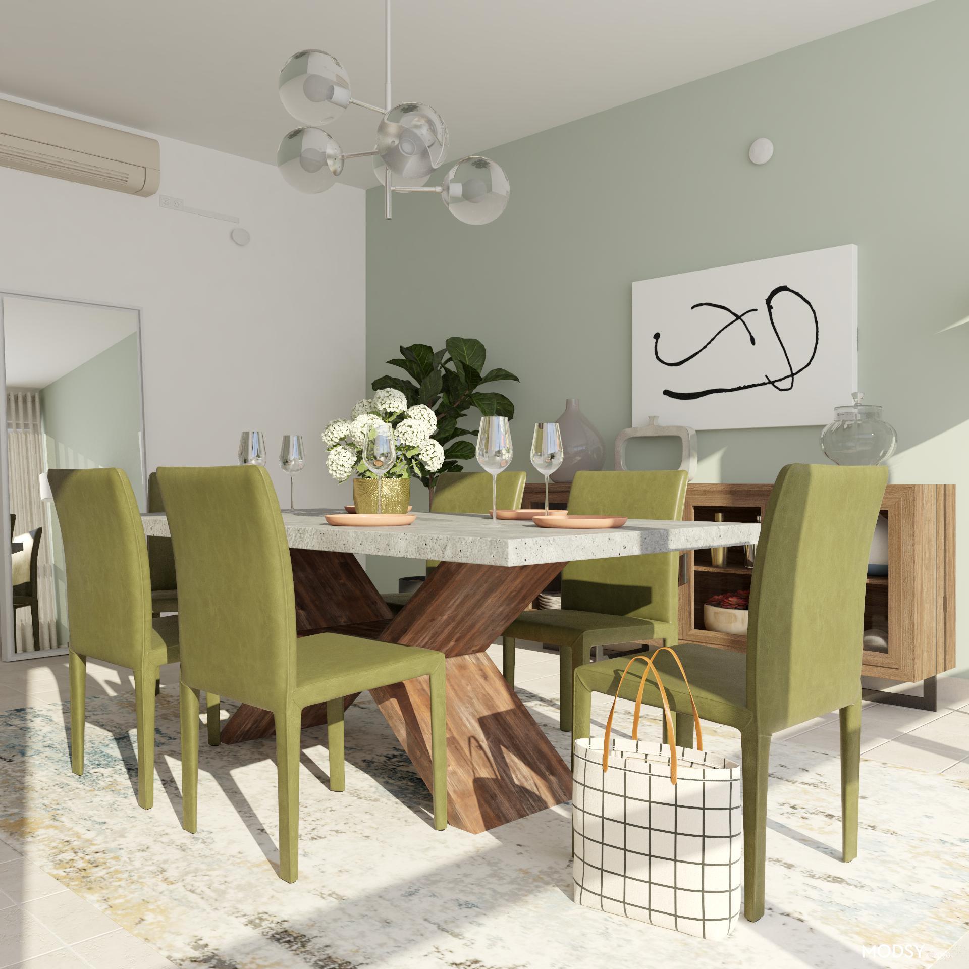 Minimalistic Materials | Minimalist-Style Dining Room ...