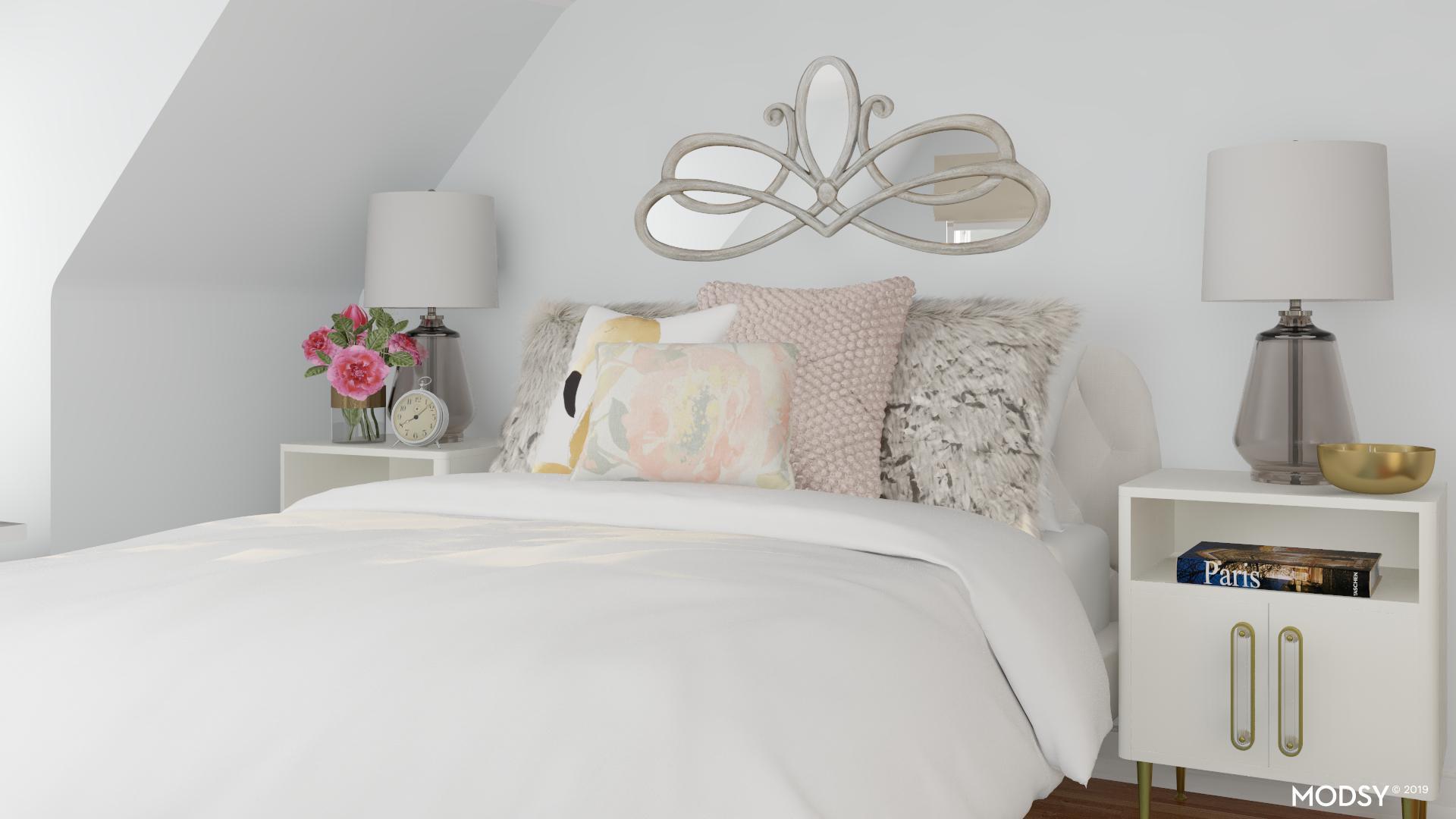 Sleek And Modern Pastels | Modern-Style Bedroom Design Ideas