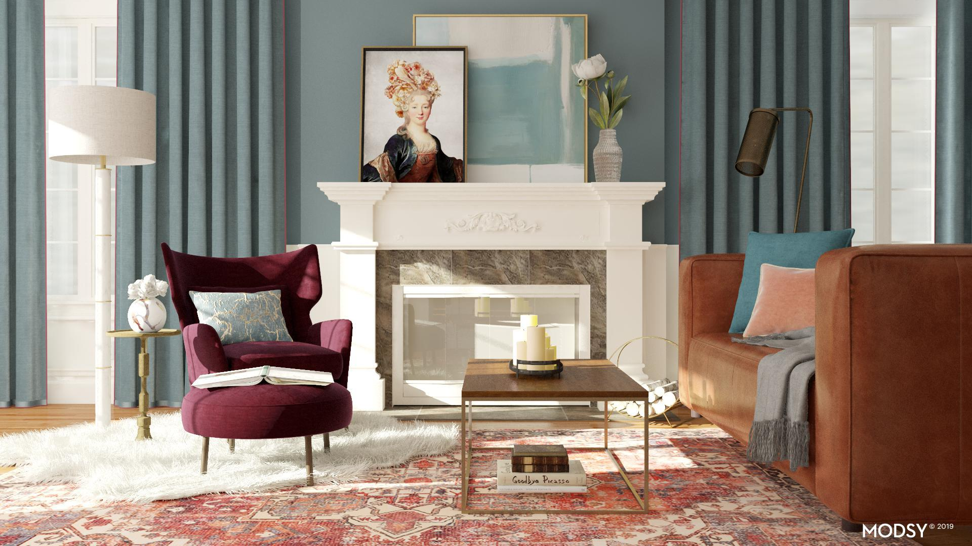 Picture of: Classic Chic Ruby Living Room Traditional Classic Style Living Room Design Ideas