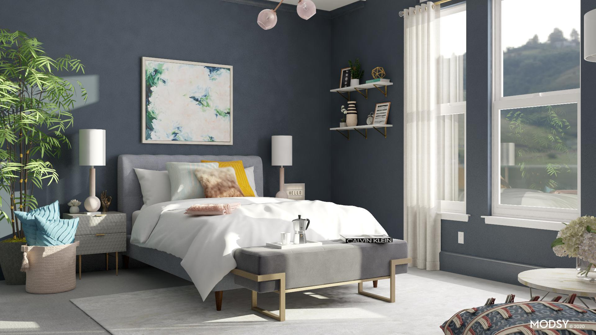 Upholstered Bed Design Ideas And Styles From Modsy Designers