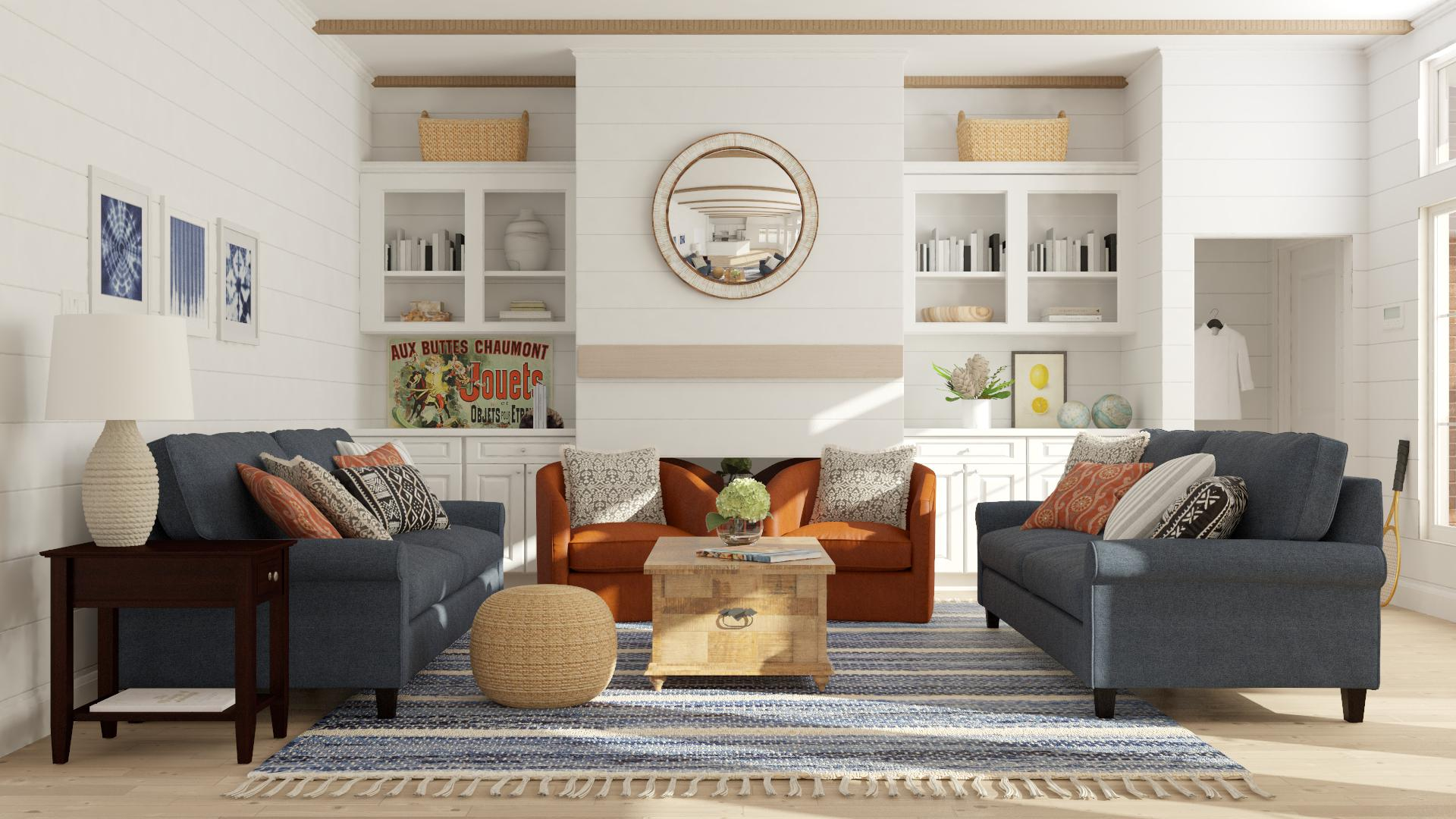 Blue Sofa Design Ideas And Styles From Modsy Designers